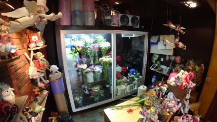 Холодильник для цветов Frostberg